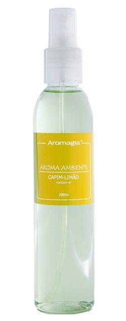 Aromagia Aroma Ambiente Capim Limão Spray 200ml