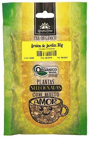 Kampo de Ervas Chá de Arnica de Jardim Orgânico Fracionado 30g