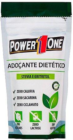 Power1One Adoçante Dietético Stevia e Eritritol 180g