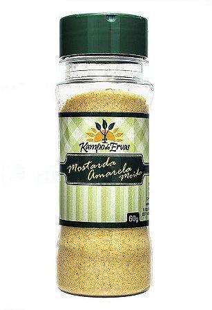 Kampo de Ervas Mostarda Amarela Moída Condimento Puro 60g