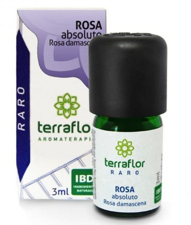 Terra Flor Óleo Absoluto de Rosa Damascena 3ml