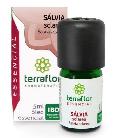 Terra Flor Óleo Essencial de Sálvia Sclarea GT Áustria 5ml