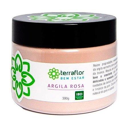 Terra Flor Argila Rosa 300g