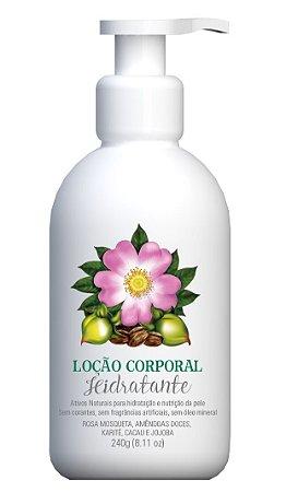 Multi Vegetal Loção Corporal Hidratante com Rosa Mosqueta 240ml