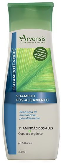 Arvensis Pós-Alisamento Shampoo 300ml