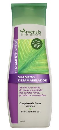Arvensis Desamarelador Shampoo 300ml