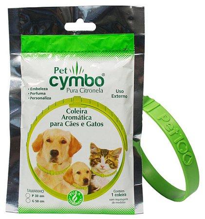 Cymbo Pet Coleira Repelente para Pets com Citronela 1un