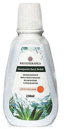 Phytoterápica Enxaguante Bucal Herbal Menta e Melaleuca 250ml