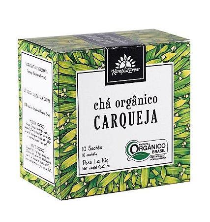 Kampo de Ervas Chá de Carqueja Orgânico Caixa 10 Sachês