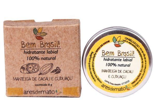 Ares de Mato Hidratante Labial Manteiga de Cacau e Cupuaçu 8g
