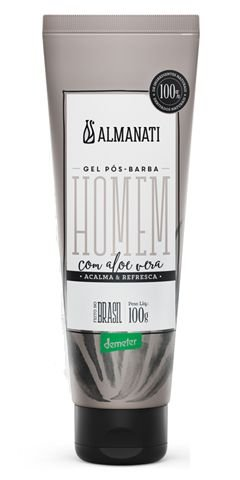 Almanati Homem Gel Pós-Barba com Aloe Vera 100g