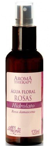 Arte dos Aromas Água Floral de Rosas Hidrolato 120ml
