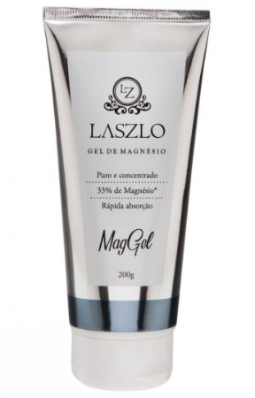 Laszlo Gel de Magnésio MagGel - Puro e Concentrado 200g