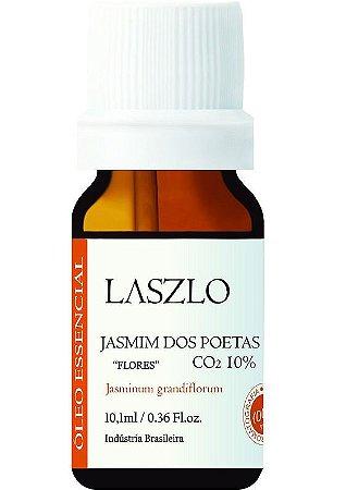 Laszlo Óleo Essencial de Jasmim dos Poetas (CO2) Diluído 10% 10,1ml