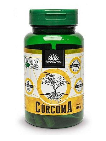 Kampo de Ervas Cúrcuma Orgânica (600mg) - 90 Cápsulas Veganas