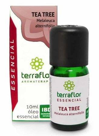 Terra Flor Óleo Essencial de Tea Tree 10ml