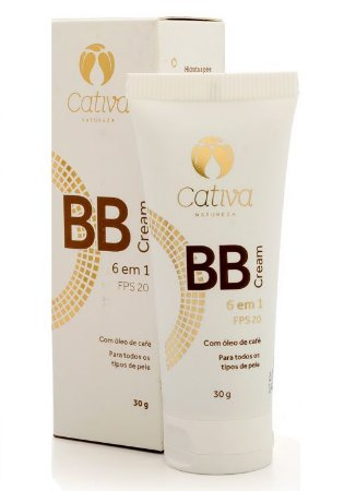 Cativa Natureza BB Cream 6 em 1 FPS 20 Multiuso - Cor 2 - 30g