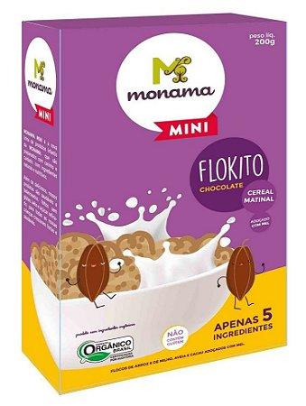 Monama Mini Flokito Chocolate Cereal Matinal Orgânico 200g