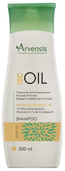 Arvensis Tec Oil Shampoo 300ml