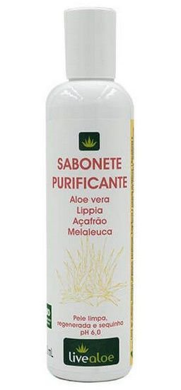 Livealoe Sabonete Líquido Purificante 200ml
