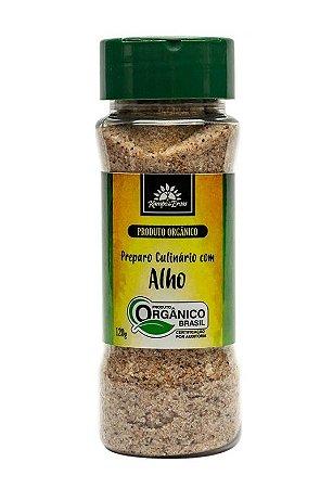 Kampo de Ervas Sal Rosa do Himalaia com Alho Preparo Culinário Orgânico 120g