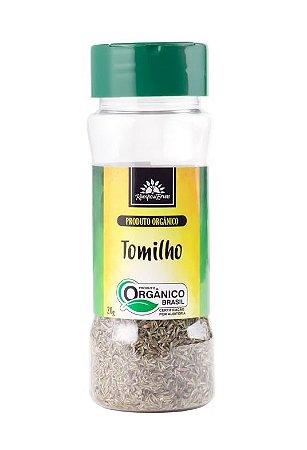 Kampo de Ervas Tomilho Condimento Puro Orgânico 20g