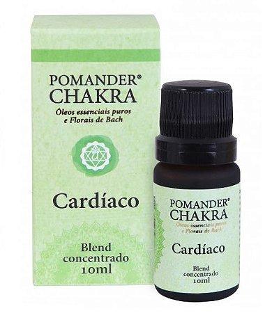 Pomander Chakra Cardíaco Blend Concentrado para Massagem e Difusor 10ml