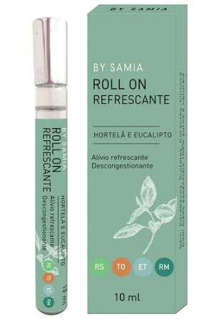 By Samia Roll-on Refrescante e Descongestionante 10ml