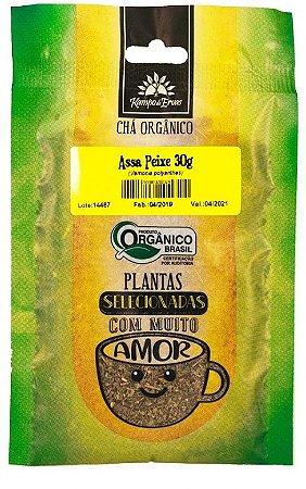 Kampo de Ervas Chá de Assa-Peixe Orgânico Fracionado 30g