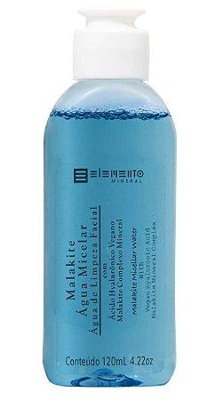 Elemento Mineral Água Micelar com Ácido Hialurônico e Malakite 120ml