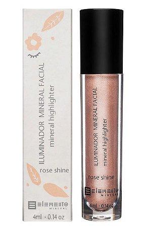Elemento Mineral Iluminador Mineral Facial - Rose Shine 4ml