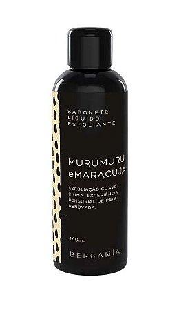 Bergamia Sabonete Líquido Esfoliante de Murumuru e Maracujá 140ml