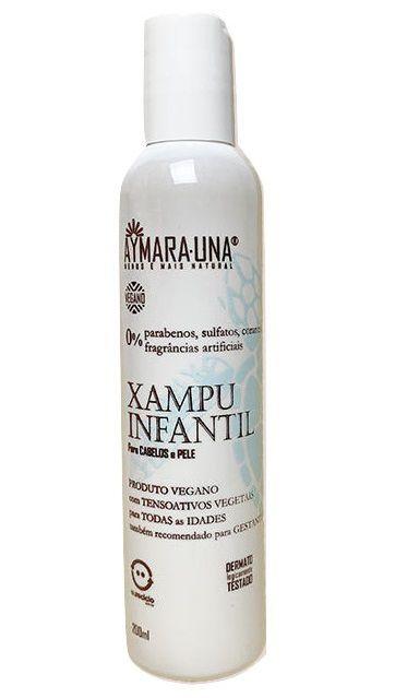 Aymara-Una Shampoo e Sabonete 2 em 1 Infantil 200ml