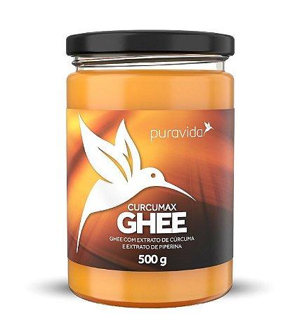 Puravida Ghee Curcumax - Manteiga Clarificada com Cúrcuma e Piperina 500g