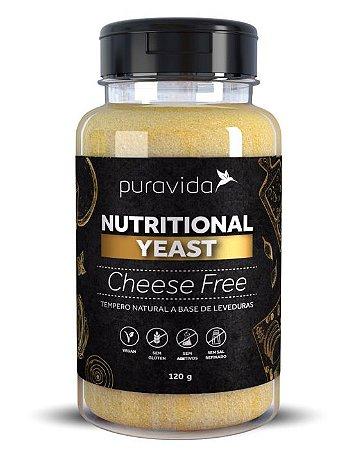 Puravida Nutritional Yeast Cheese Free - Tempero Vegano Sabor Queijo 120g