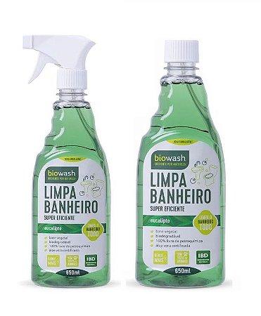 Biowash Limpa Banheiro Natural