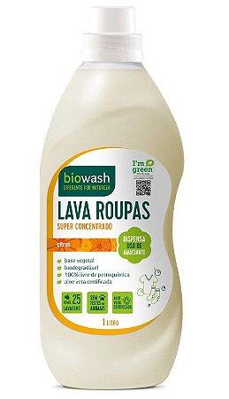 Biowash Lava Roupas Natural Citrus 1L