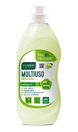 Biowash Multiuso Concentrado Natural Capim Limão