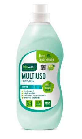 Biowash Multiuso Concentrado Natural Menta