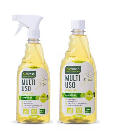 Biowash Multiuso Pronto Para Uso Natural Capim Limão