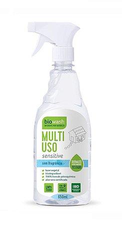 Biowash Multiuso Pronto Para Uso Natural Sensitive Sem Fragrância