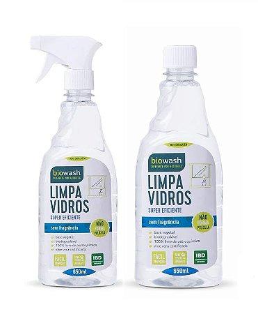 Biowash Limpa Vidro Natural