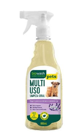 Biowash Pets Multiuso Pronto Para Uso Natural Lavanda 650ml
