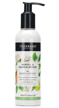 Tisserand Neroli e Sandalwood Body Lotion - Loção Hidratante Corporal 195ml