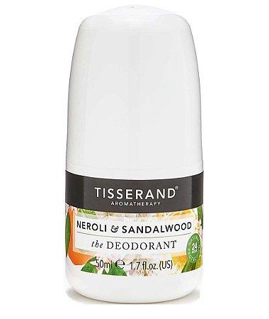 Tisserand Neroli e Sandalwood Desodorante Natural Roll-on 50ml
