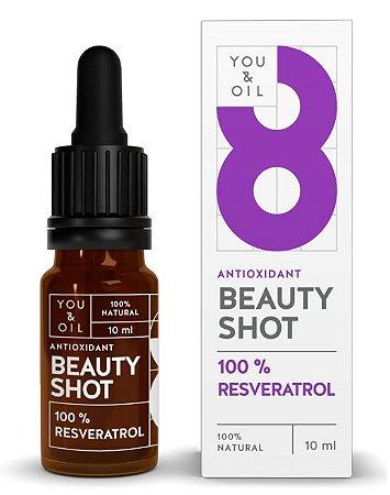 You & Oil Beauty Shot Sérum Facial N8 Antioxidante com Resveratrol 10ml