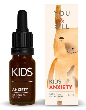 You & Oil Kids Ansiedade - Blend Bioativo de Óleos Essenciais 10ml