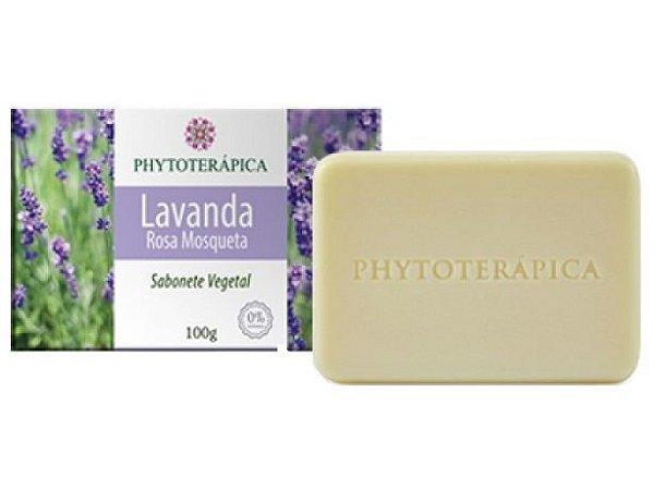 Phytoterápica Sabonete de Lavanda e Rosa Mosqueta 100g