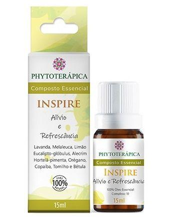 Phytoterápica Composto Essencial Inspire - Alívio e Refrescância 15ml