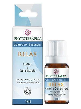 Phytoterápica Composto Essencial Relax - Calma e Serenidade 15ml